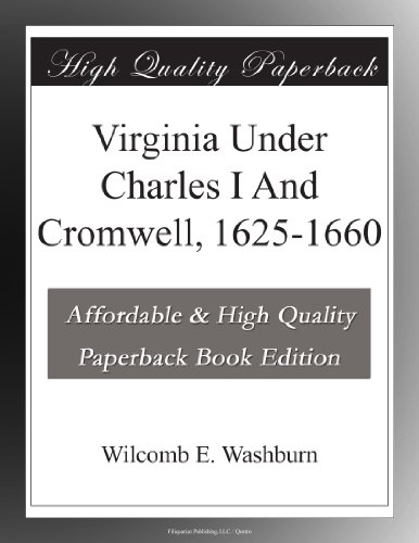 Virginia Under Charles...