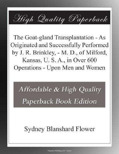 The Goat-gland Transpl...