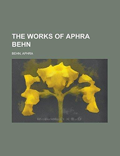The Works of Aphra Behn Volume V