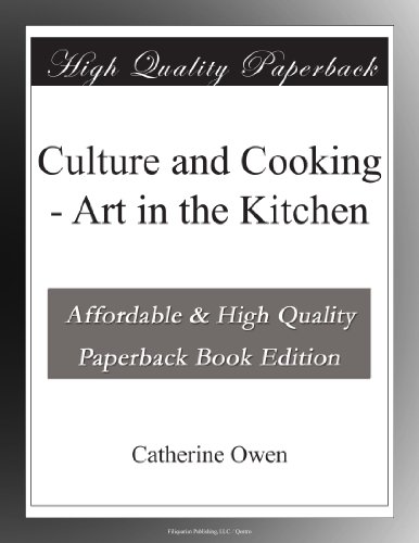 Culture and Cooking Ar...
