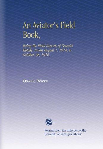 An Aviator's Field Boo...