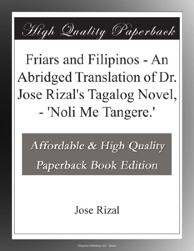 Friars and Filipinos A...