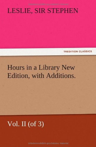 Hours in a Library New...