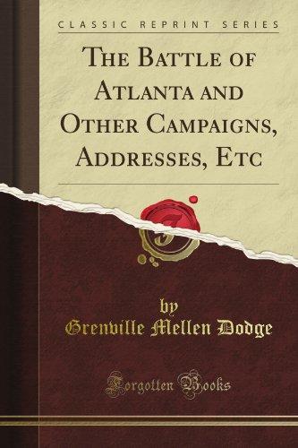 The Battle of Atlanta ...