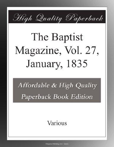 The Baptist Magazine, ...