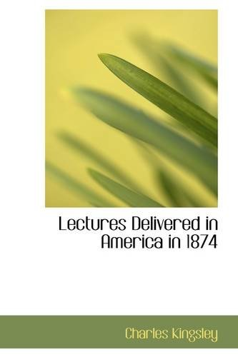 Lectures Delivered in ...