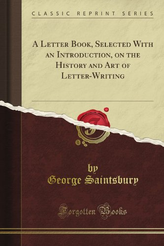A Letter Book Selected...