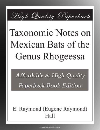 Taxonomic Notes on Mex...