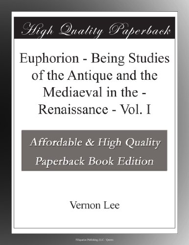 Euphorion - Vol. I Be...