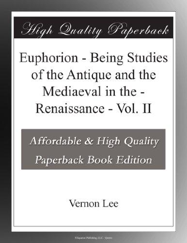 Euphorion - Vol. II B...