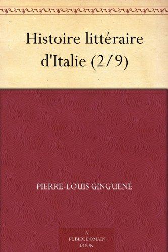Histoire littéraire d'...