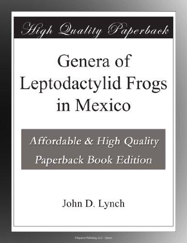 Genera of Leptodactylid Frogs in México