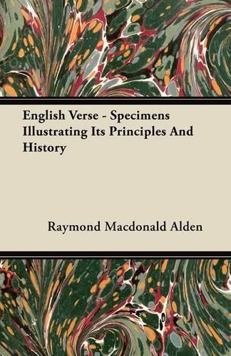 English Verse: Specime...