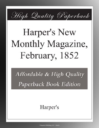 Harper's New Monthly M...