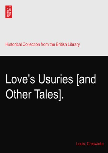 Love's Usuries