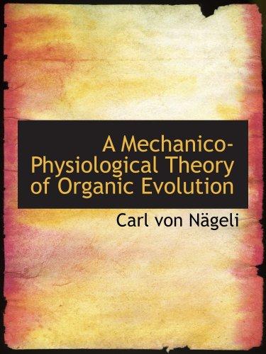 A Mechanico-Physiologi...