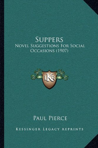 Suppers: Novel Suggest...