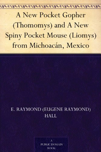 A New Pocket Gopher (Thomomys) and A New Spiny Pocket Mouse (Liomys) from Michoacán, Mexico