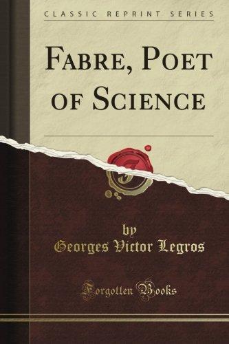Fabre, Poet of Science