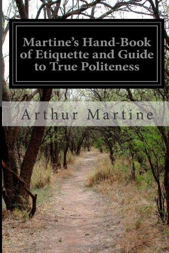 Martine's Hand-book of...