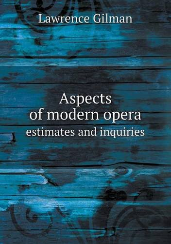 Aspects of Modern Oper...