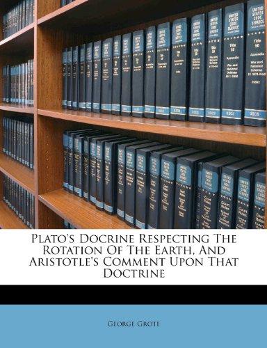 Plato's Doctrine respe...