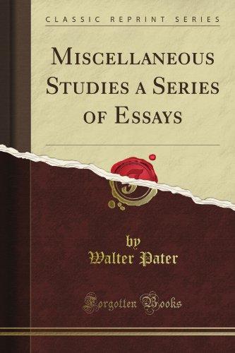 Miscellaneous Studies;...