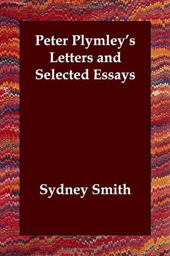 Peter Plymley's Letter...