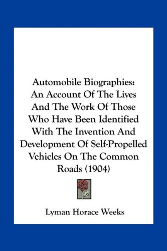 Automobile Biographies...