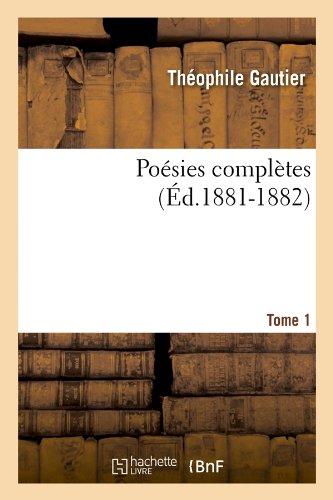 Poésies Complètes - To...