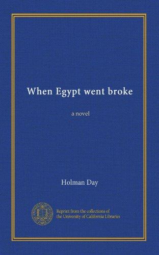 When Egypt Went Broke:...