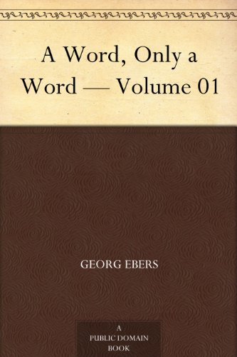 A Word, Only a Word — Volume 01