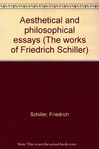 aesthetical essays of frederich schiller You're reading aesthetical essays of friedrich schiller  use left-right keyboard keys to go to next/prev page.