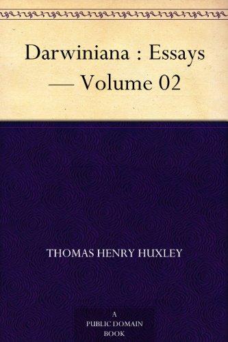 Darwiniana : Essays — Volume 02