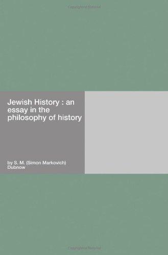 Jewish History : An Es...
