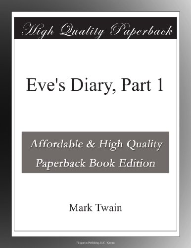 Eve's Diary, Part 1