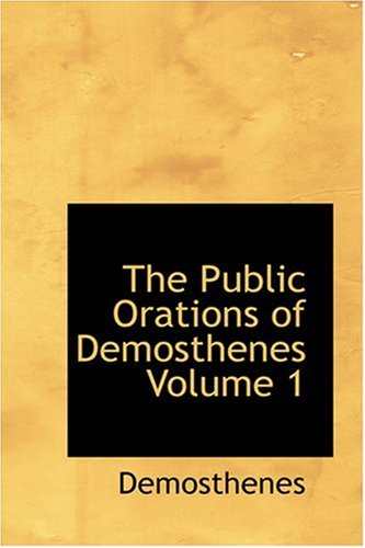 The Public Orations of...