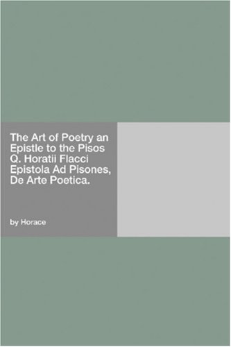 The Art of Poetry: an ...