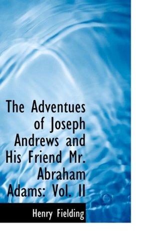 Joseph Andrews, Vol. 2