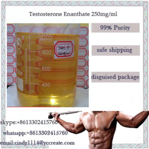 Steroid Oil Testosterone Enanthate Test E 250 Mg/Ml For Bodybuilding