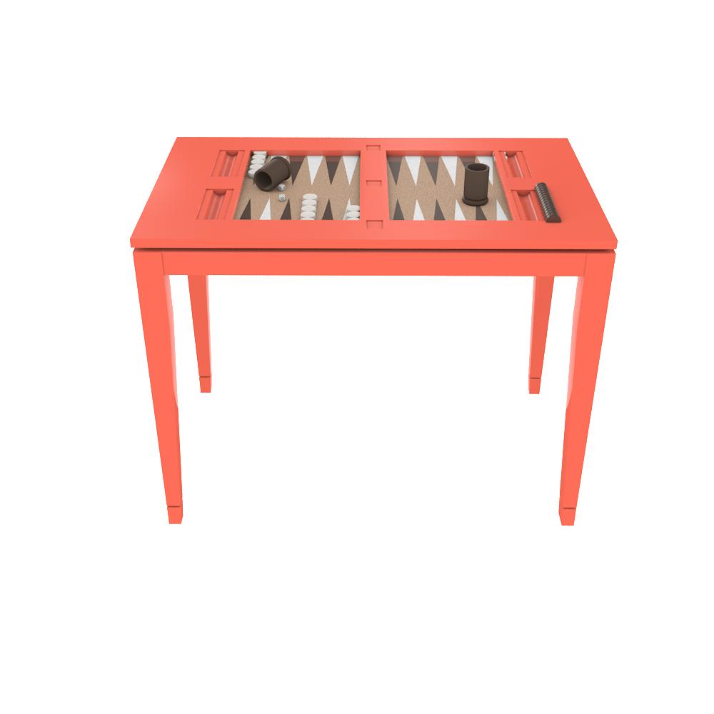Backgammon Table   Complete Fenwick Chart Coffee Table