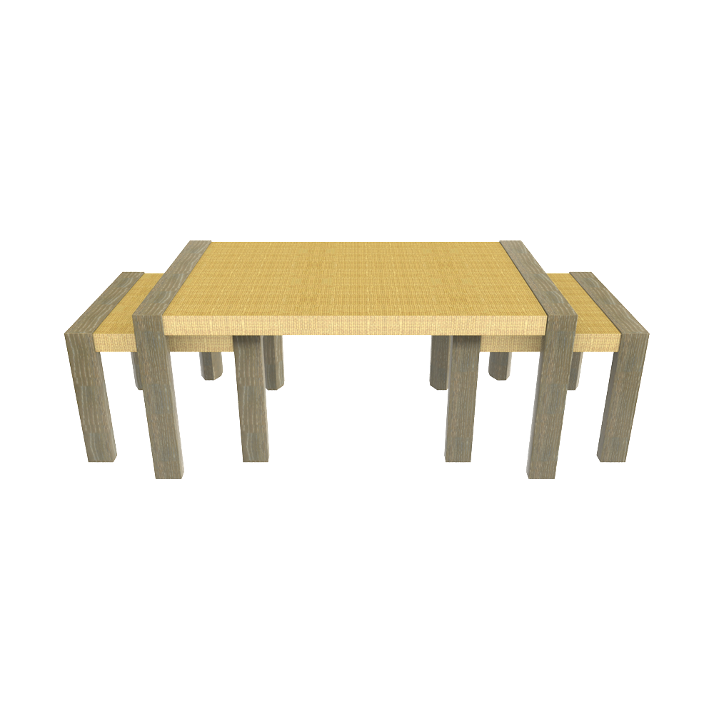 Lyford Nesting Coffee Table in Driftwood – oomph