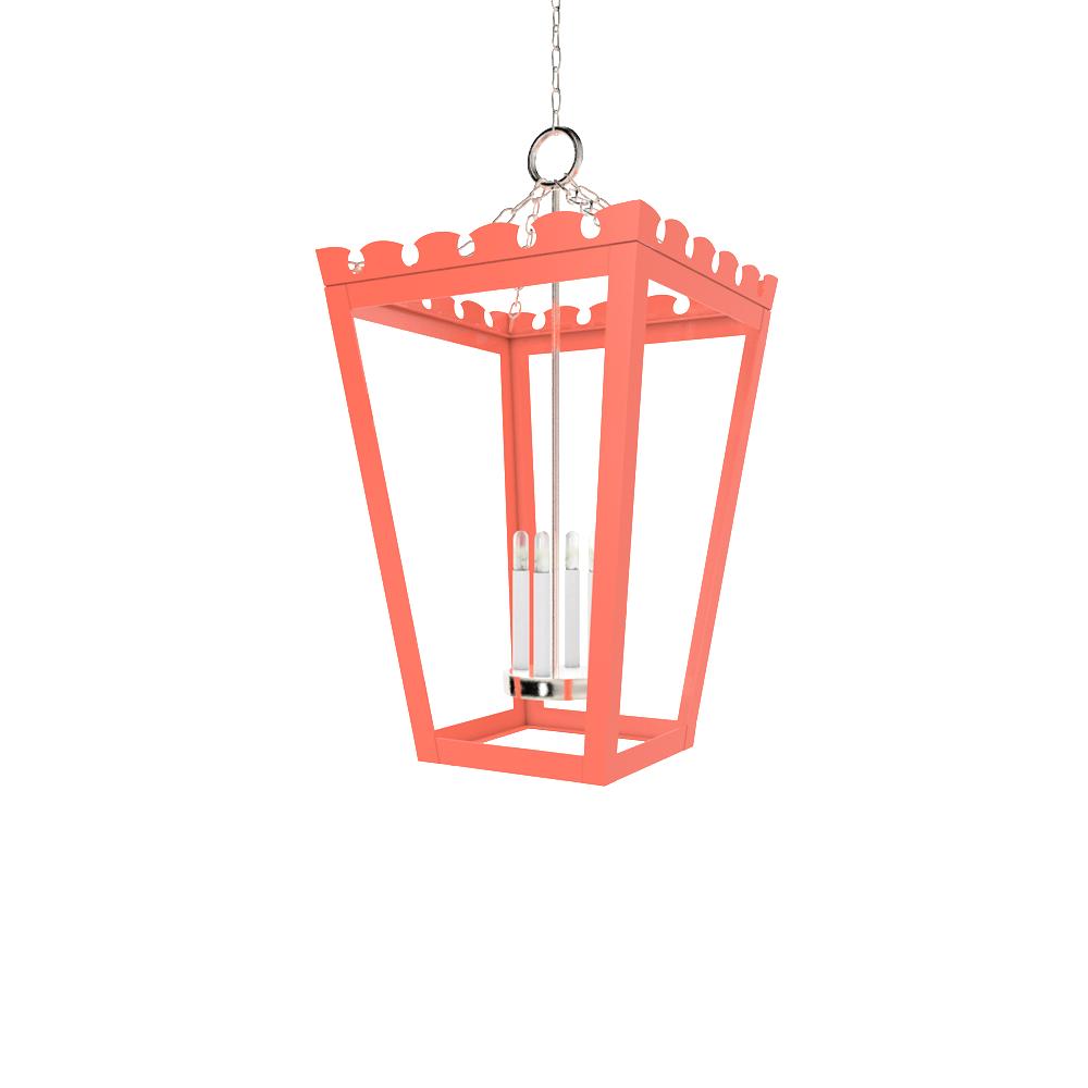 Newport lantern nickel wall table ceiling lighting