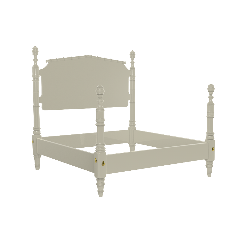 Wilton 4 Post King Bed Frame Oomph