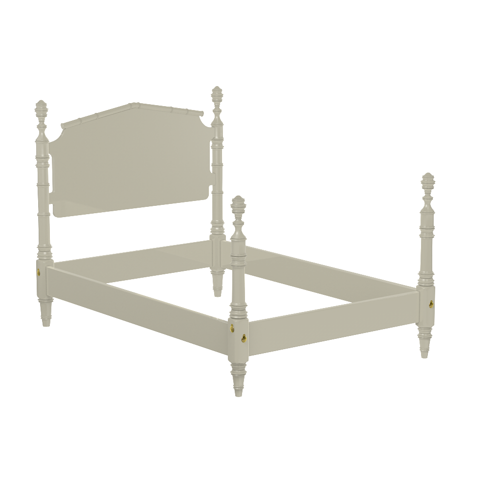 Wilton 4-Post Queen Bed Frame – oomph