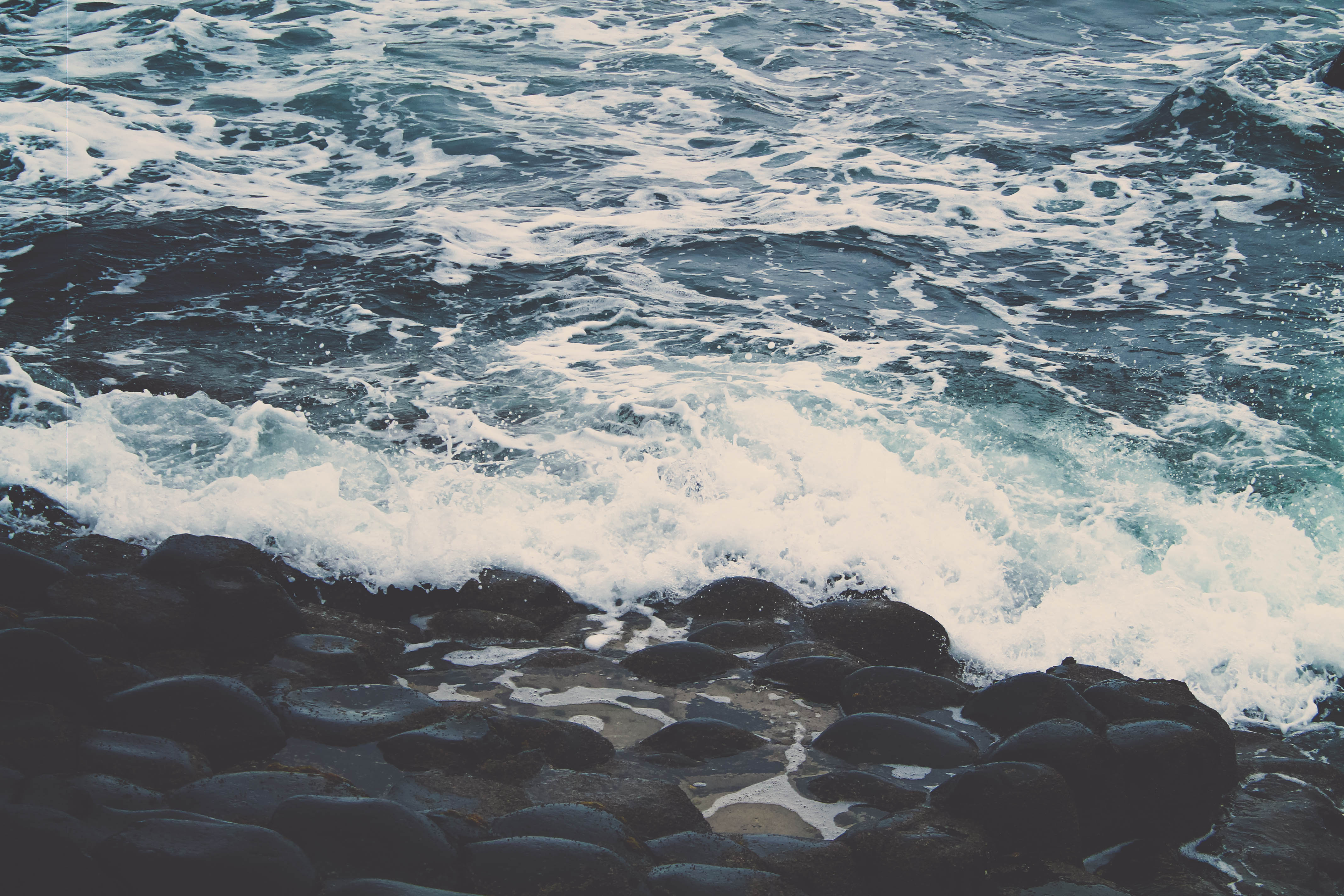 waves on shore :: Olivia Henry
