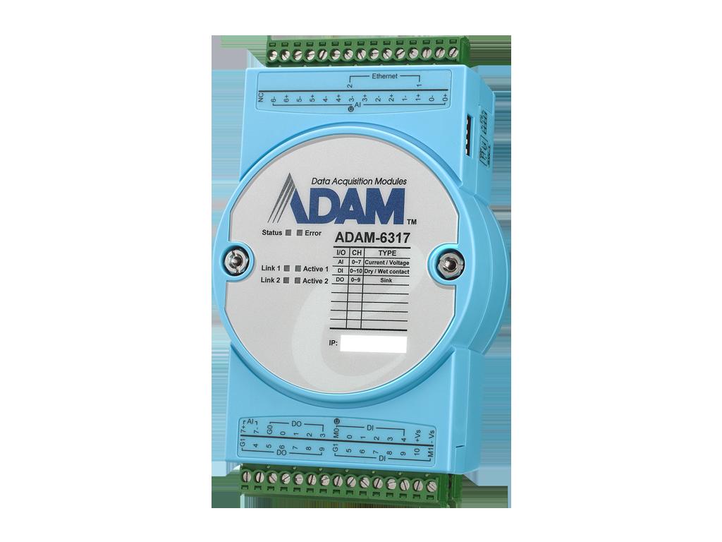 ADAM-6300: OPC UA Ethernet I/O Modules