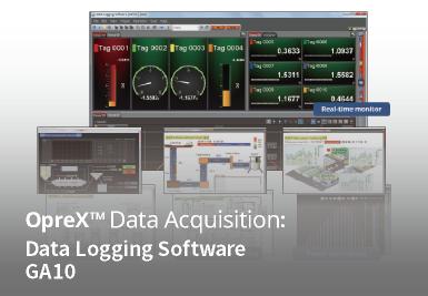 Data Logging Software GA10  OPC-UA server