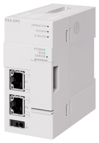 MELSEC iQ-Fシリーズ OPC UA サーバユニット