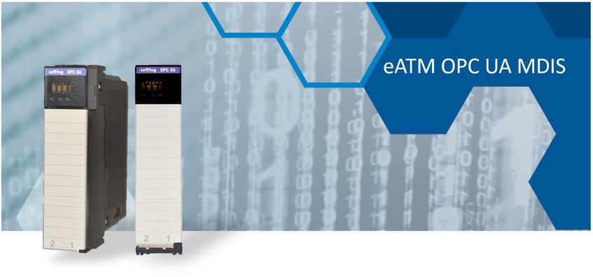 eATM OPC UA MDIS Server Module for ControlLogix